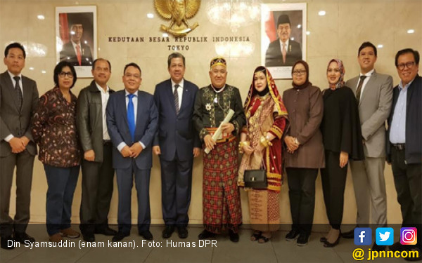 Din Syamsuddin Terima Anugerah dari Jepang, Ini Kata Fahri