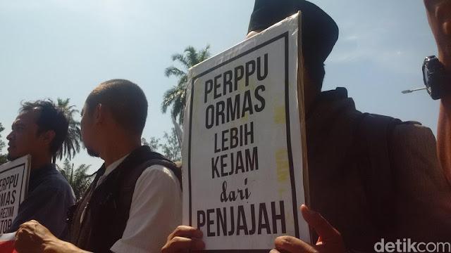 Forum Ulama dan Tokoh Jabar Gelar Demo Tolak Perppu Ormas