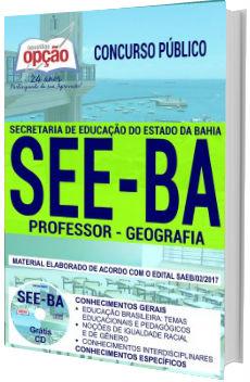 Apostila SEE-BA 2018 Professor de Geografia
