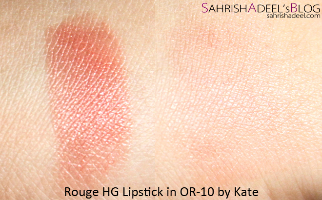 Kate Rouge HG Lipstick - Review & Swatch