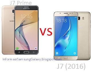 Perbandingan Samsung Galaxy J7 Prime vs J7 (2016)