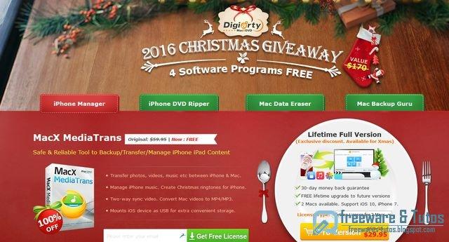 Offre promotionnelle : 4 logiciels commerciaux pour Mac gratuits !