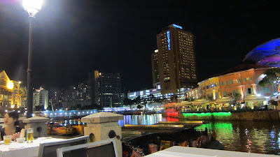 Clark Quay View from Jumbo Seafood