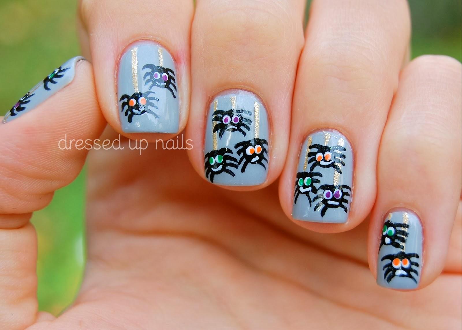 Superb Cute Halloween Nail Art | Nail Art Ideas 101