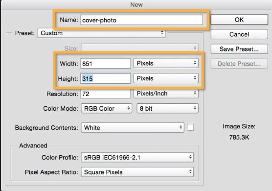 facebook cover photo size converter