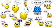 Speech Bubble Smileys