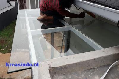 Jasa Canopy Besi Kaca di Jabodetabek dan sekitarnya denga Kualitas Terbaik