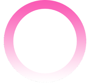 Moldura em png círculo rosa