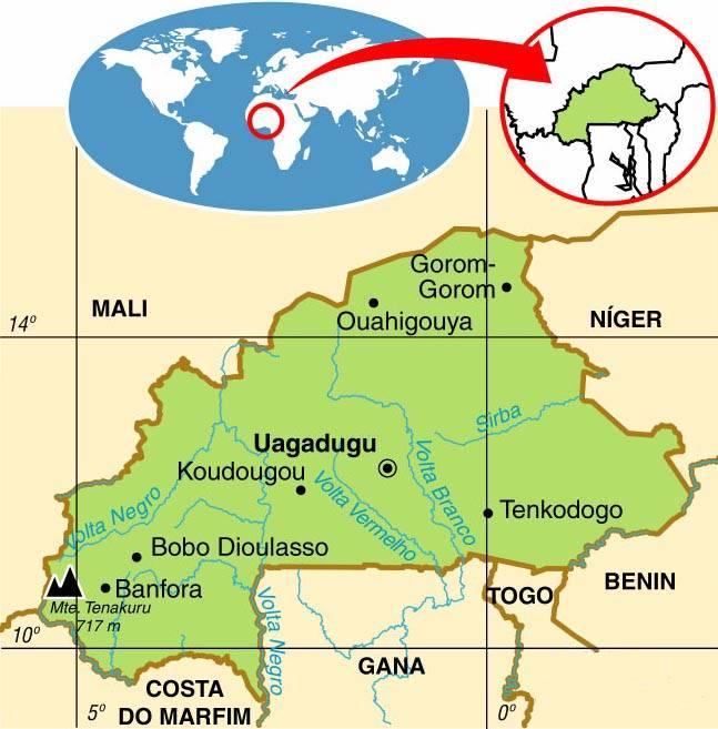 Burkina Faso, Aspectos Geográficos e Socioeconômicos de Burkina Faso