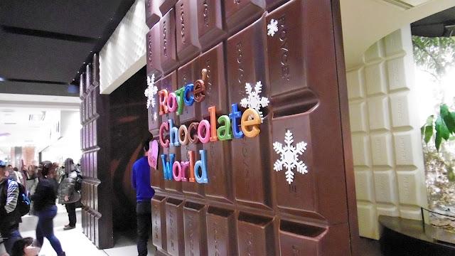北海道 新千歳空港にあるロイズチョコレート
