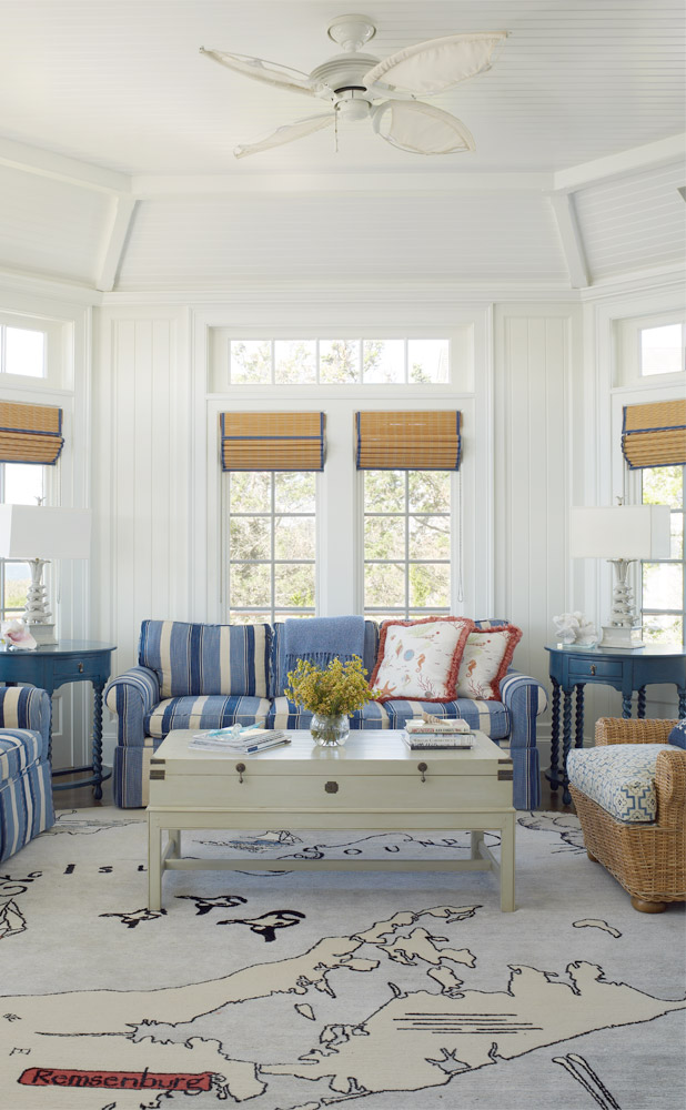 decor inspiration | nautical house on the bay | cool chic style