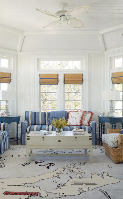 Nautical  House on the Bay {Cool Chic Style Fashion}