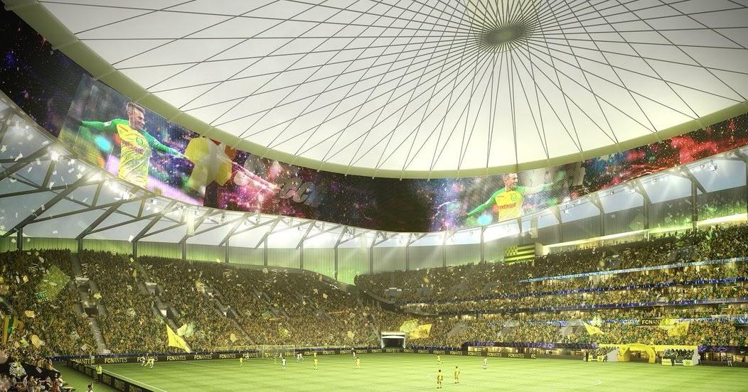 Revealed Fc Nantes Proposed New Stadium Yello Park