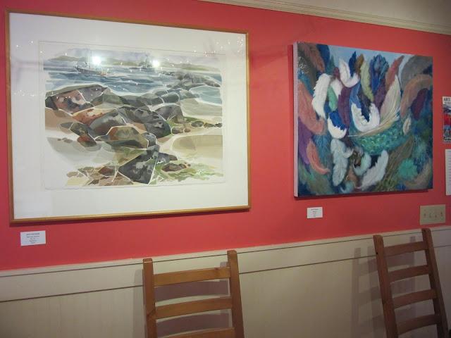 Art Saturna Group Show, Saturna Café, BC