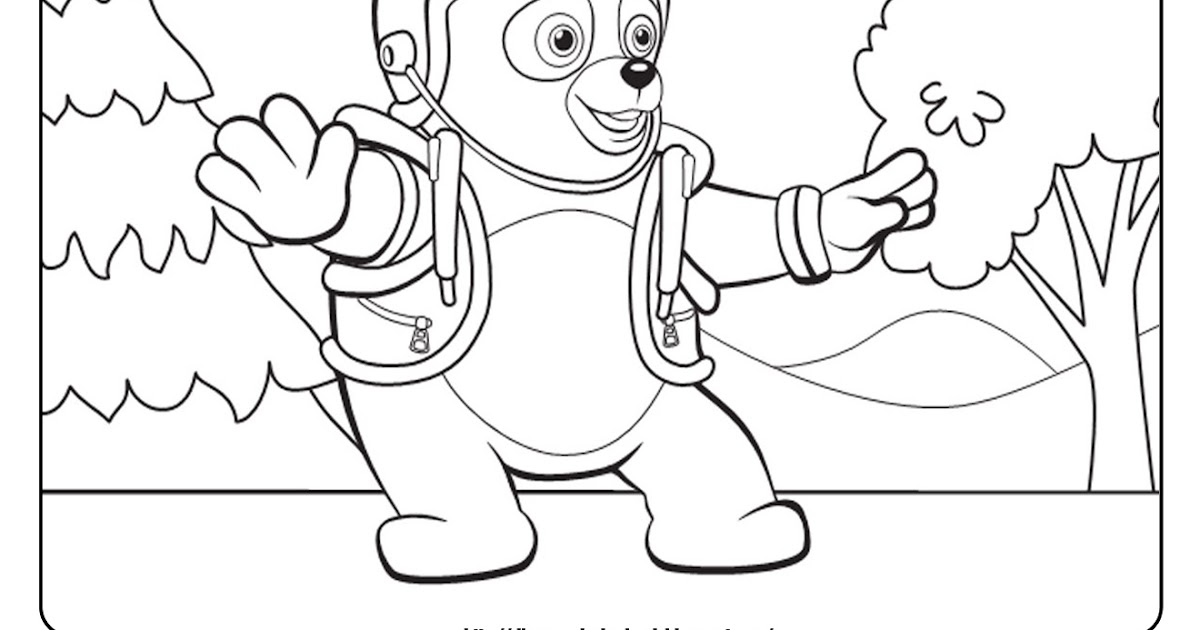 Special Agent Oso 2: Free Disney Coloring Sheets
