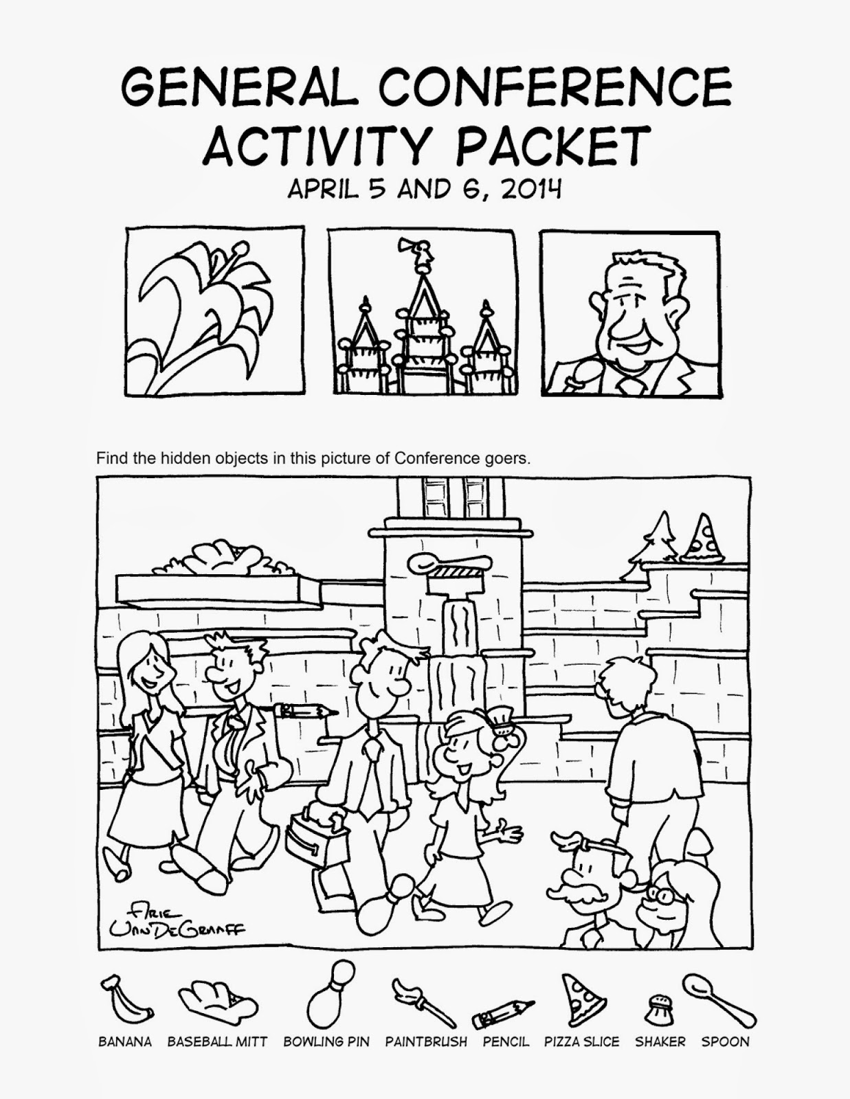 general conference 2014 coloring pages | Ward Cartoonist: Conference Helps