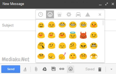 Menambahkan Emoticon Di Gmail