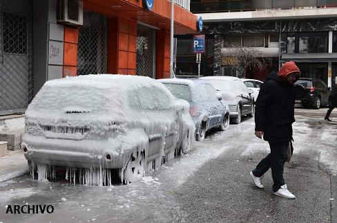Masa de aire polar congela Estados Unidos