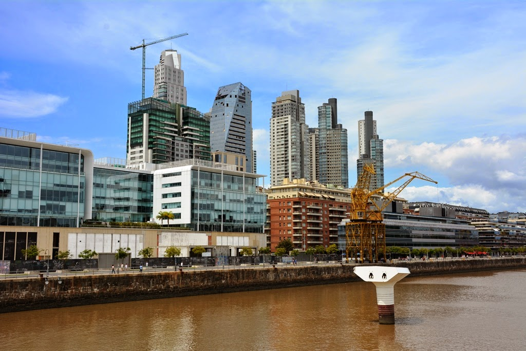 Puerto Madero Buenos Aires skyscapers