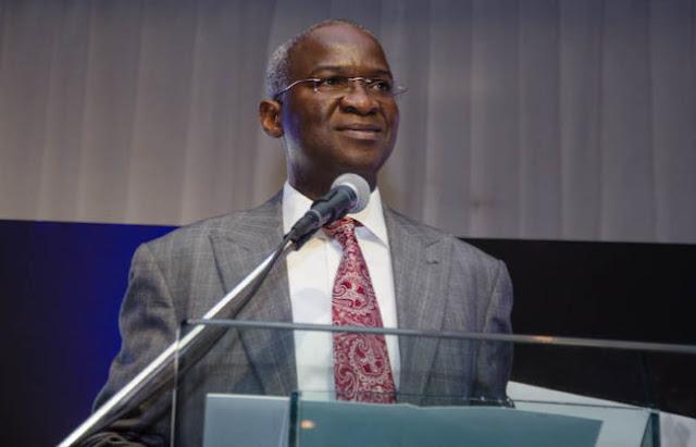 Mr. Babatunde Fashola, minister of works and housing