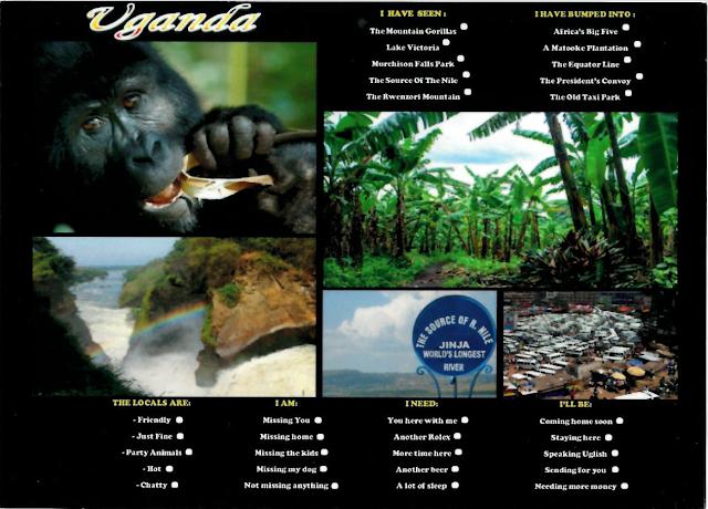 Postcard from Uganda