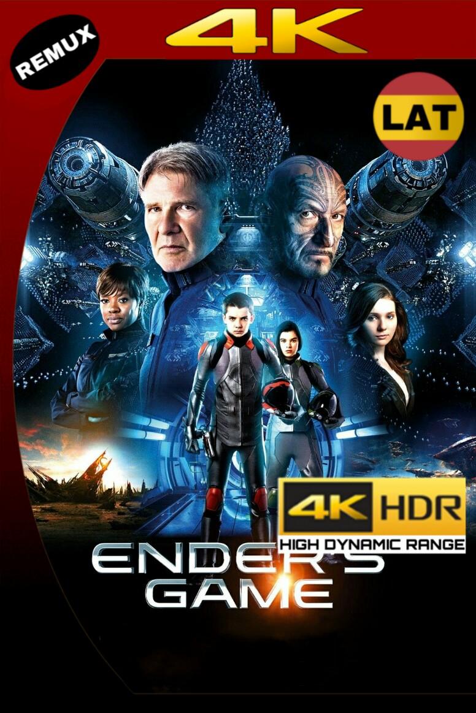 EL JUEGO DE ENDER (2013) REMUX 4K 2160P UHD [HDR] LATINO MKV