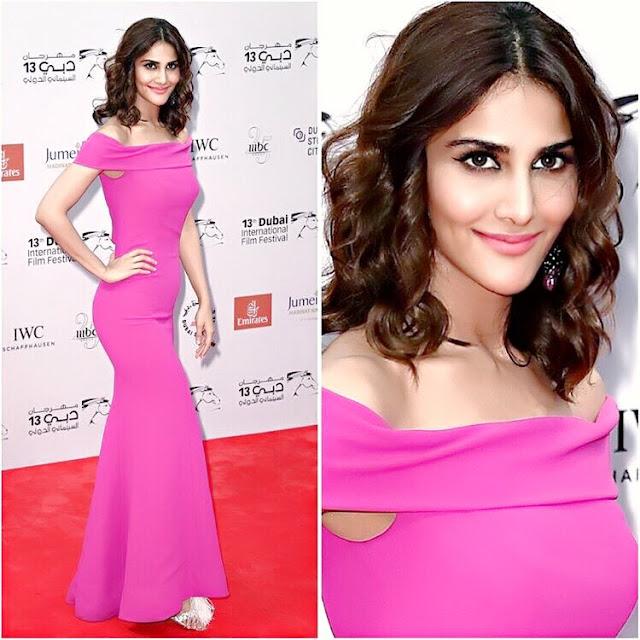 Stunning look of Vaani Kapoor in Dubai