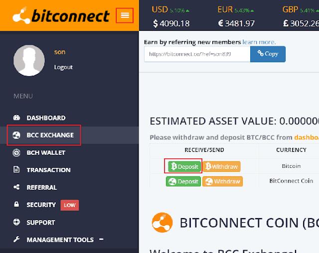 đầu tư bitconnect lending