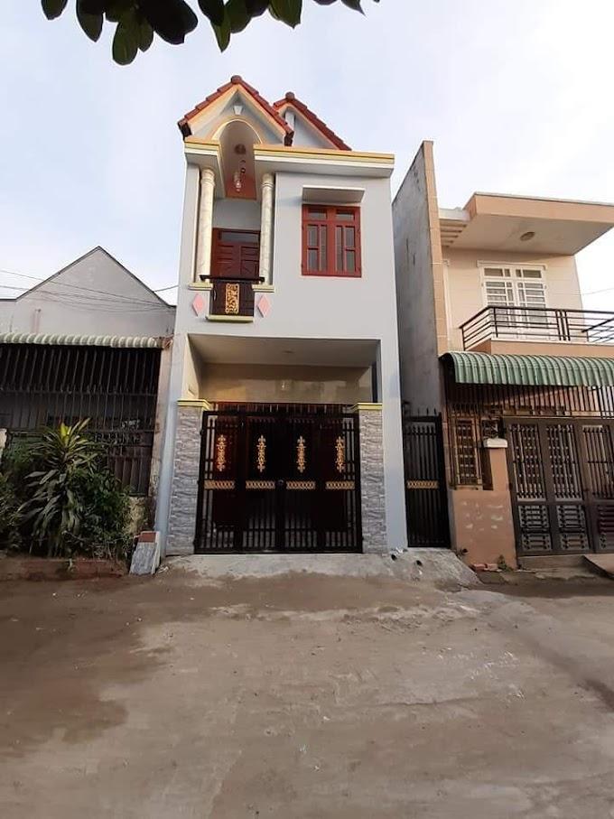 Cần bán căn nhà lầu trệt siêu đẹp tại đường Bình Chuẩn 63, Thuận An, Bình Dương
