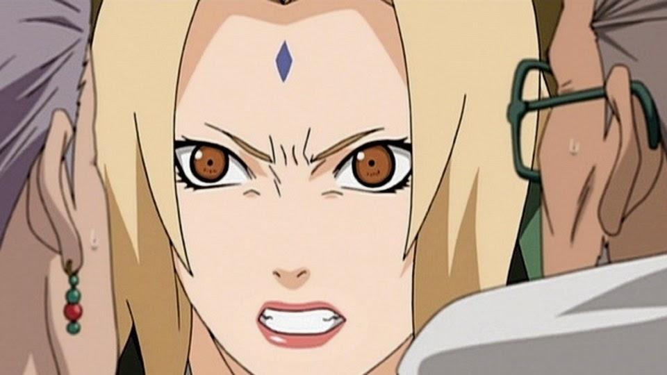 Homura y Koharu enfrenta a Tsunade