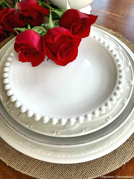 How To Make Faux Milk Glass Plates