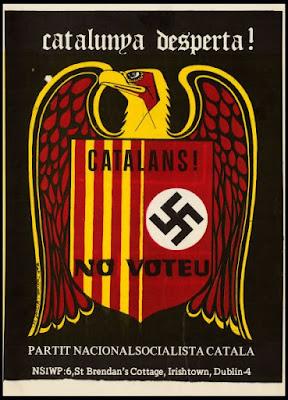 Barcelona, capital del fascismo español