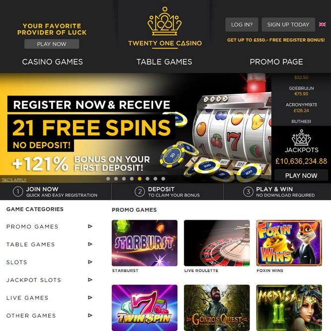 Twenty One Casino