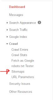 Cara Mengirim Peta Situs Ke Google Wemaster Tools