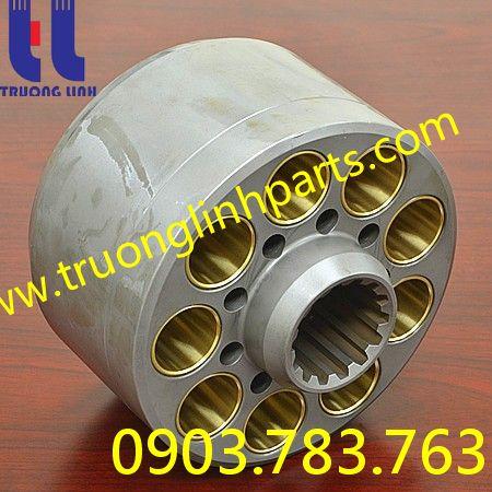 phụ kiện ruột bơm K3V140 cho xe đào Kawasaki K912/ K916/ SK300/ R290/ R310/ SE280/ SE290