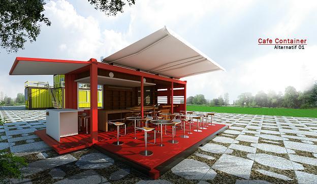 Jasa Interior 3d Murah Jasa Desain Cafe Container