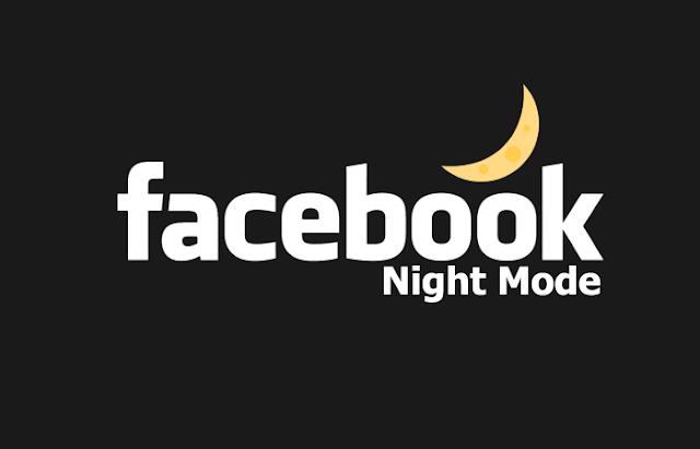 طريقة الحصول على فيسبزك الوضع الليلي او فيس بوك الاسود Dark Mode