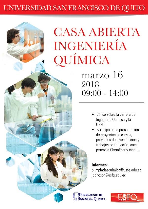 Casa abierta Ingeniería Química