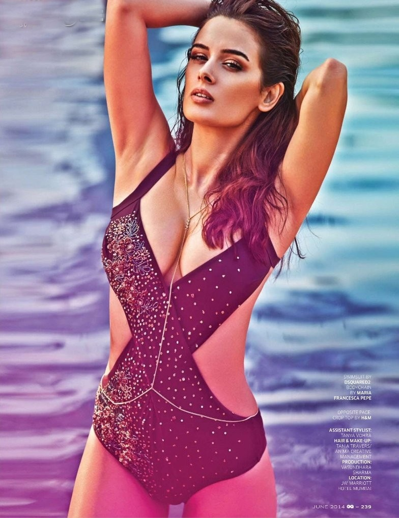 Evelyn Sharma - GQ India Magazine June 2014