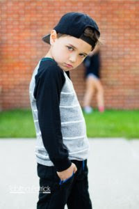 Attitude little boy pic