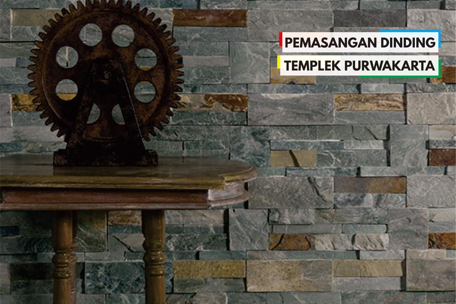 Batu Alam Templek Purwakarta Ukuran Jakarta Jual Dinding
