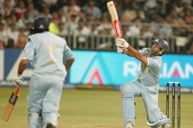 Yuvraj Singh Hit 6 Sixes in WT20