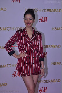 Tamannah Bhatia Exclusive in Red Blazer and Red Shorts Spicy Pics ~  Exclusive 066.JPG