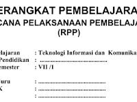 Download RPP SMP/MTS Kelas 7-8-9 Lengkap Semua Ma
