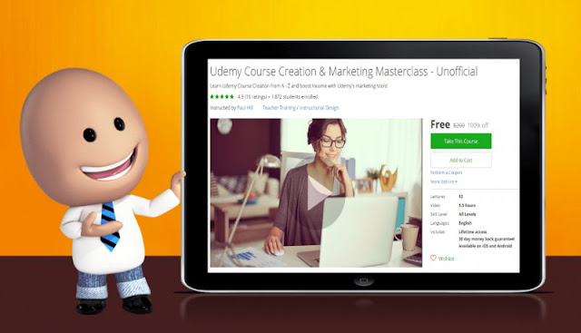 [100% Off] Udemy Course Creation & Marketing Masterclass - Unofficial| Worth 200$