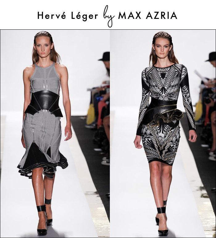 herve leger, max azaria, nyfw, fashion week, runway collections