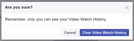 Find History of Watched Videos on Facebook