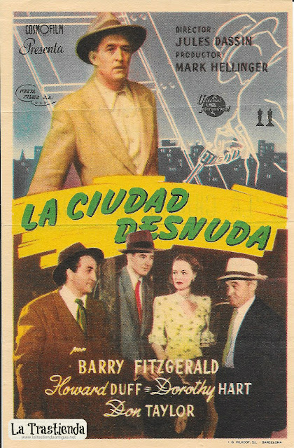 La Ciudad Desnuda - Programa de Cine - Barry Fitzgerald - Howard Duff - Dorothy Hart