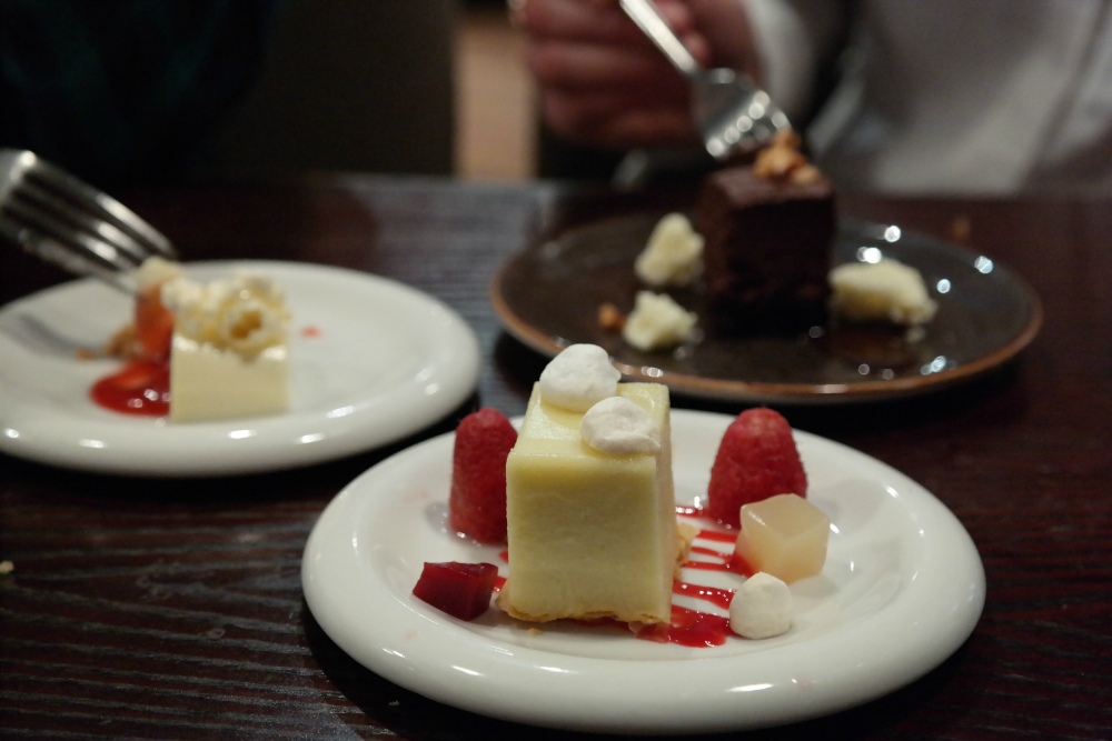 Adelphi Kitchen Aberdeen: Dessert Samples