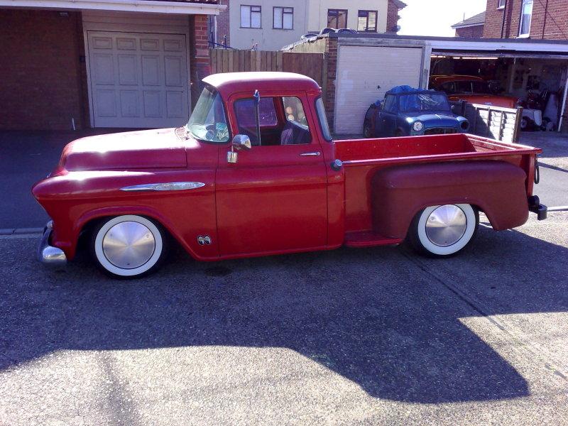Rocky Ridge Trucks For Sale >> SHIFTHEAD SPEED: 55-57 Chevy Trucks